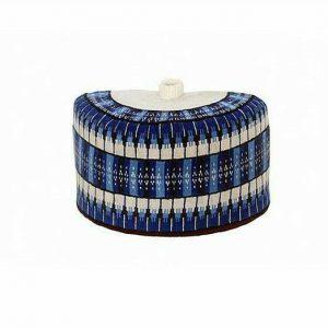 Blue african hats | deji & kola