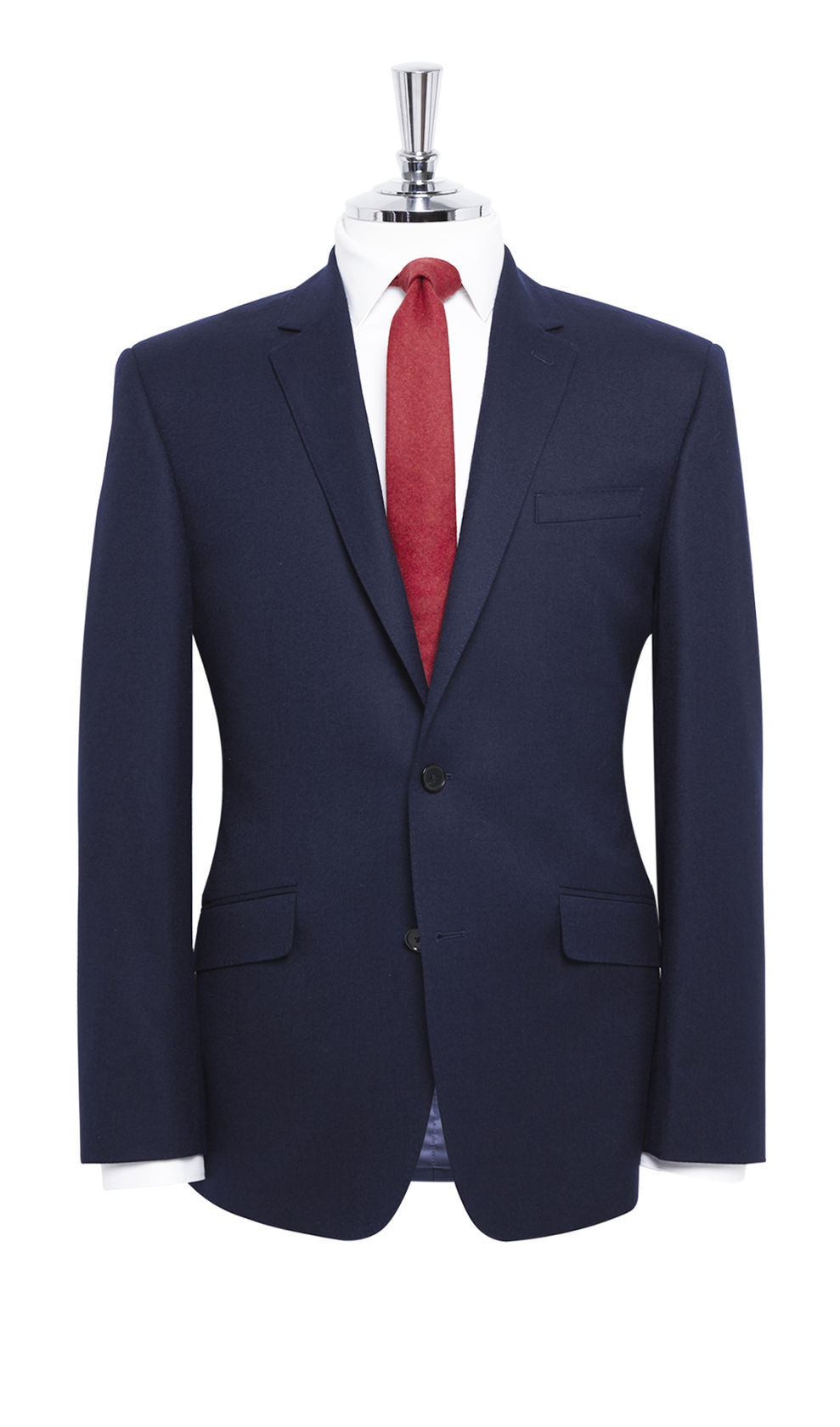 2 button suit, navy blue fabrics, bespoke mens suit wear
